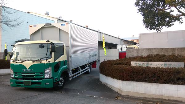 当社の4tトラック
